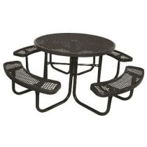 SuperSaver™ Commercial Round Picnic Table
