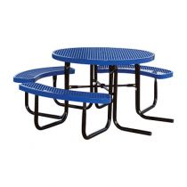 SuperSaver™ Commercial Round Wheelchair Accessible Picnic Table