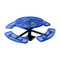 The City™ Series Round Pedestal Picnic Tables