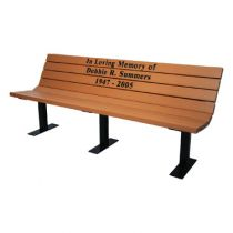 Champion Lightweight Memorial Benches