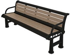 Carlton Bench – Two-Tone