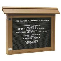 Large Horizontal Letter Boards