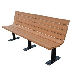 Champion Lightweight Bench – Wood Grain Naturals