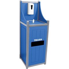 Two-Tone Sanitation Welcome Stations