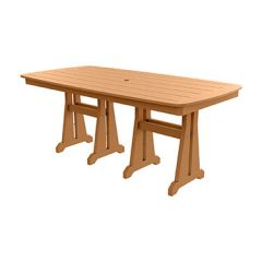 Sunburst Rectangular Dining Table