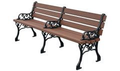 Grand Bench – Wood Grain Naturals