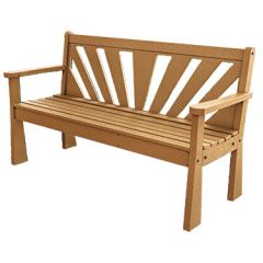 Sunburst Bench